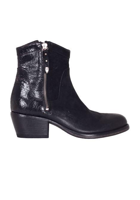 STIVALETTO IN SUEDE MOMA | Shoes | 90502V1NERO