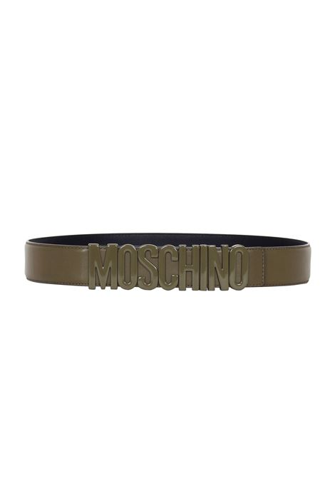 CINTURA IN PELLE MOSCHINO | Belts | 80008001428