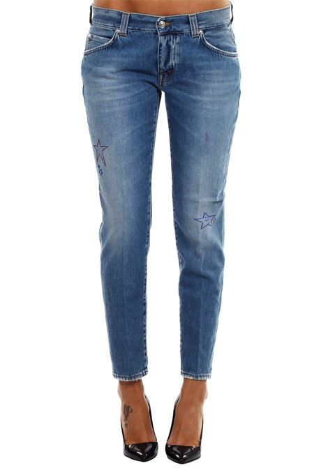 JEANS 'KAREN' IN COTONE PEOPLE | Jeans | W3001DMA179L2074JEANS