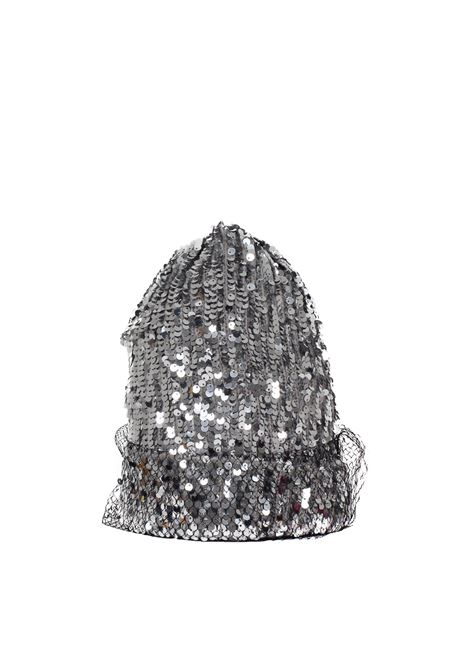 CAPPELLO 'DOG' IN PAILLETTES PINKO | Hats | DOG 1N206PY3DZI17