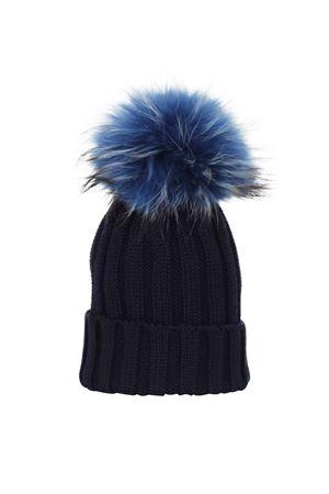 CAPPELLO IN LANA REGINA   Cappelli   I60599BLU