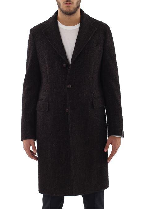 Cappotto monopetto in lana TAGLIATORE PINO LERARIO | Cappotti | CPLM3B07RIC110M391