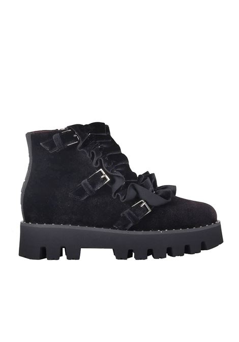 AMPHIBIAN 181 | Shoes | ROSA191VELNERO VELLUTO