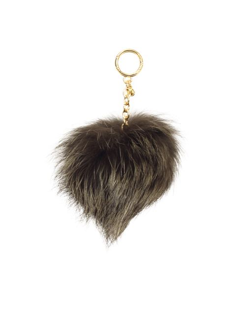 FUR KEY RING MICHAEL DI MICHAEL KORS | Key Rings | 32F6GKCK3FPOMPOMS333