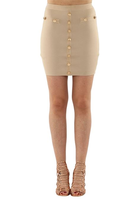 MINISKIRT STRETCH WOW COUTURE | Skirts | KB959BEIGE