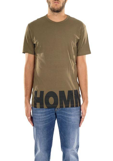 COTTON T-SHIRT DANIELE ALESSANDRINI | T-shirt | M6412E6433707233