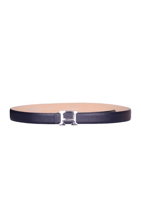 LEATHER BELT DANIELE ALESSANDRINI | Belts | NL5874A370623