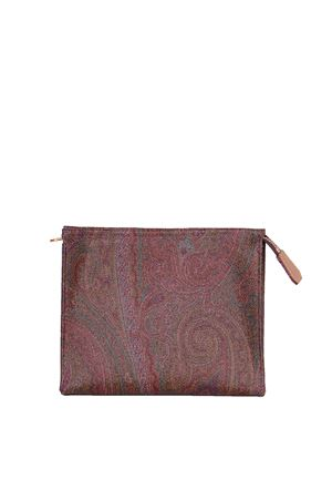 LEATHER POCHETTE ETRO | Clutches | 000511729600