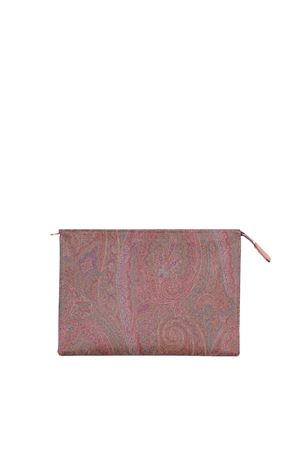 LEATHER POCHETTE ETRO | Clutches | 000521729600