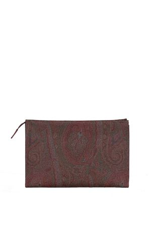 LEATHER POCHETTE ETRO | Clutches | 000531729600