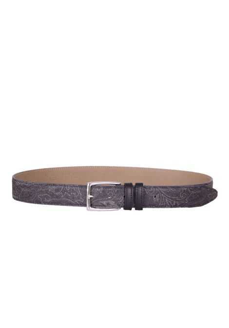 LEATHER BELT ETRO | Belts | OH58982390001