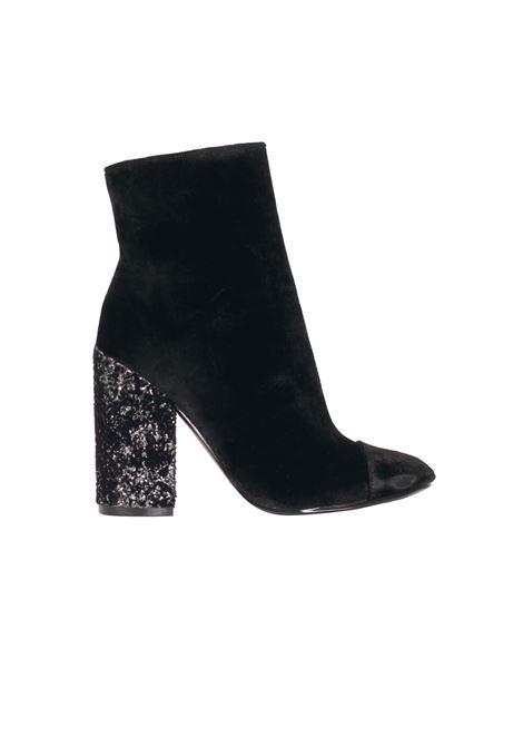 BOOTS VELVET KENDALL+KYLIE | Ankle Boots | KKKADEN2/04NERO