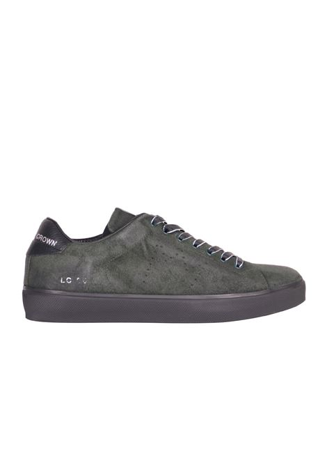 SNEAKERS IN SUEDE LEATHER CROWN | Sneakers | MLC06SUEDE/CERVOPETROLIO