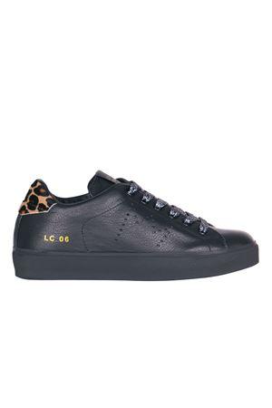 SNEAKERS IN PELLE LEATHER CROWN | Sneakers | WLC06CERVO/PONYNERO