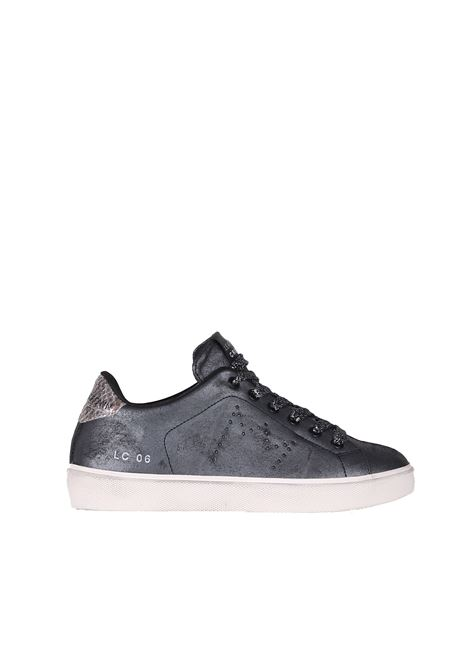 SNEAKERS IN PELLE LEATHER CROWN | Sneakers | WLC06CERVO/PONYpiombo