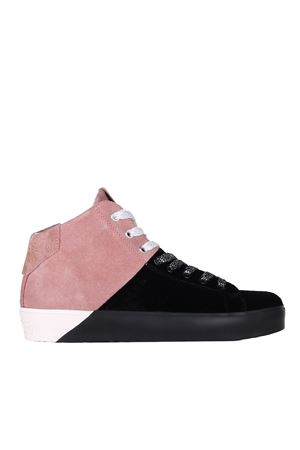 SNEAKERS IN SUEDE E VELLUTO LEATHER CROWN | Scarpe | WLC297