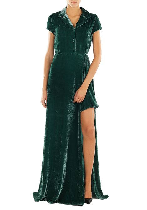 VELVET AND SILK DRESS LEIT MOTIV | Dress | AMAL2V06