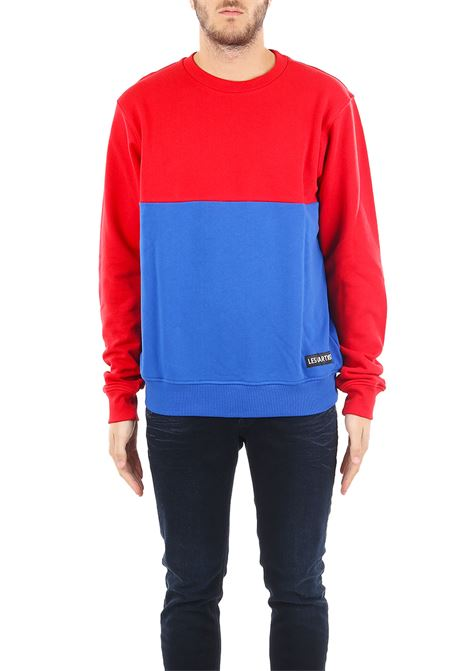 SWEATSHIRT GOSHA LES ARTISTS | Sweatshirts | LA05CPSWE2171RDBLRED/BLU