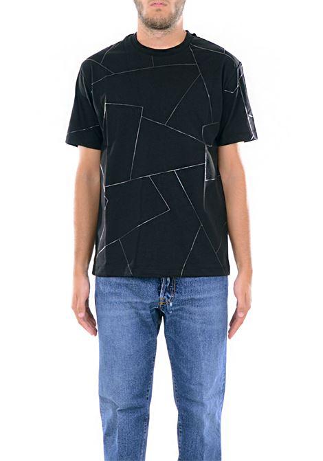 T-SHIRT IN COTONE LES HOMMES | T-shirt | URD800PUD804A9000