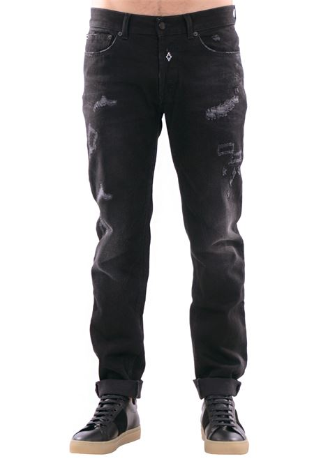 DENIM 'RELMU' IN COTTON MARCELO BURLON | Jeans | CMCE013F173771886710