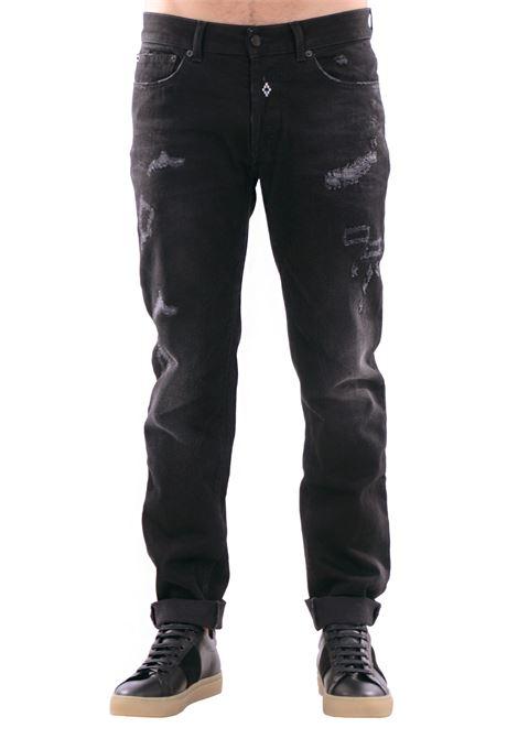 DENIM 'RELMU' IN COTONE MARCELO BURLON | Jeans | CMCE013F173771886710