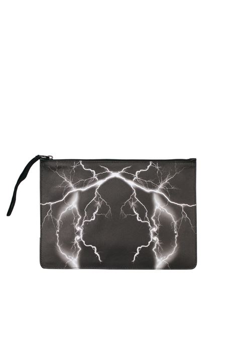 CLUTCH 'TELGO' LEATHER MARCELO BURLON | Clutches | CMNA008F174301221088