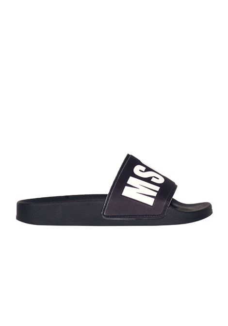 RUBBER SLIPPER MSGM | Slide Sandals | 2041MDS61002