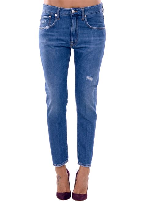 JEANS CARROT IN COTTON PEOPLE | Jeans | W0308A179L2289JEANS