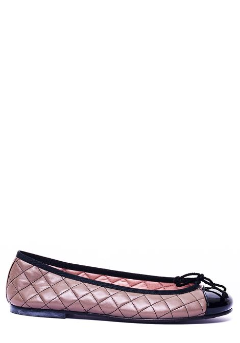 POWDER PINK BALLERINA WITH RHOMBUS FANTASY PRETTY BALLERINAS | Ballerinas | 36120SHADENERO/MORO