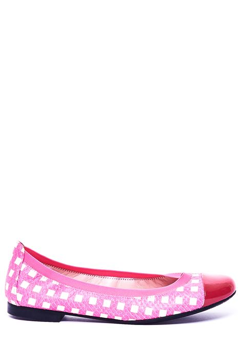 BALLERINA WITH CHECKED FANTASY PRETTY BALLERINAS | Ballerinas | 37190IPNOTICBIBIFUCSIA