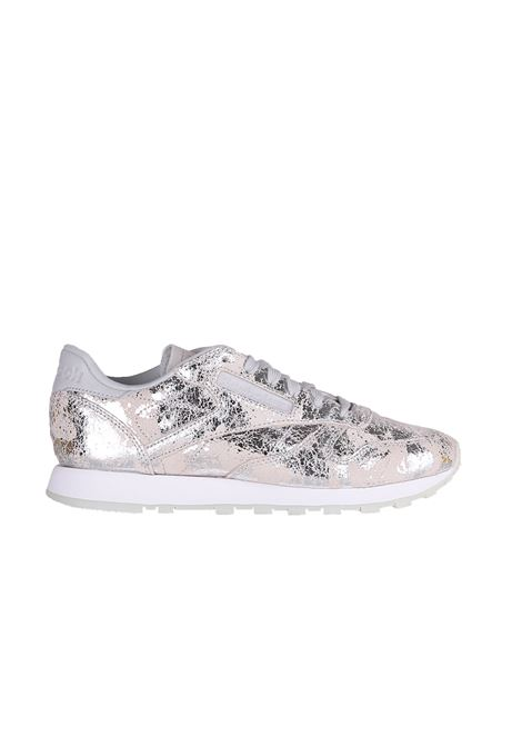 SNEAKERS IN PELLE REEBOK | Sneakers | BS6785SILVER