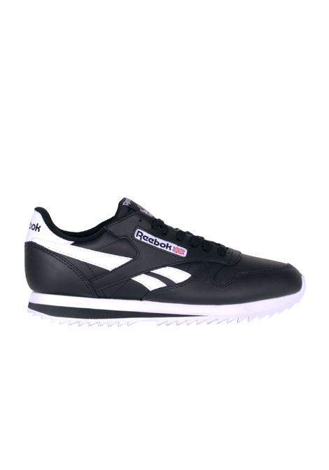 SNEAKERS IN PELLE REEBOK | Sneakers | BS8298BLACK/WHITE