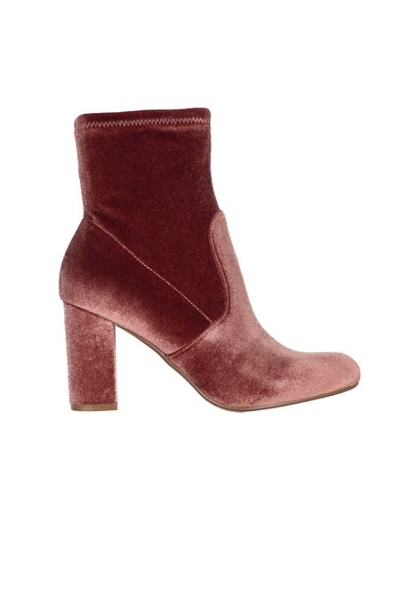ANKLE BOOTS VELVET STEVE MADDEN | Ankle Boots | SMSAVENUEROSA ANTICO