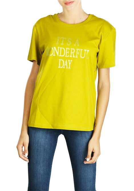 T-SHIRT IN JERSEY DI COTONE ALBERTA FERRETTI | T-shirt | 07036671J1456