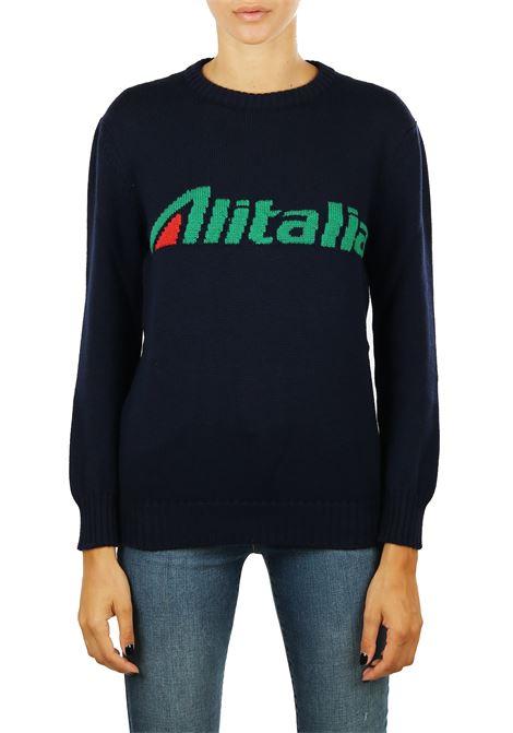 WOOL SWEATER 'ALITALIA' ALBERTA FERRETTI | Sweaters | 098116131290