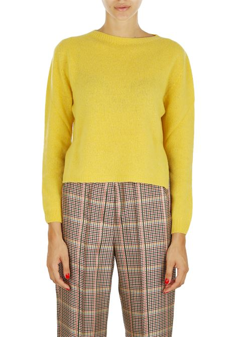 WOOL AND CASHMERE SWEATER ALYSI | Sweaters | 258461A8222GIALLO