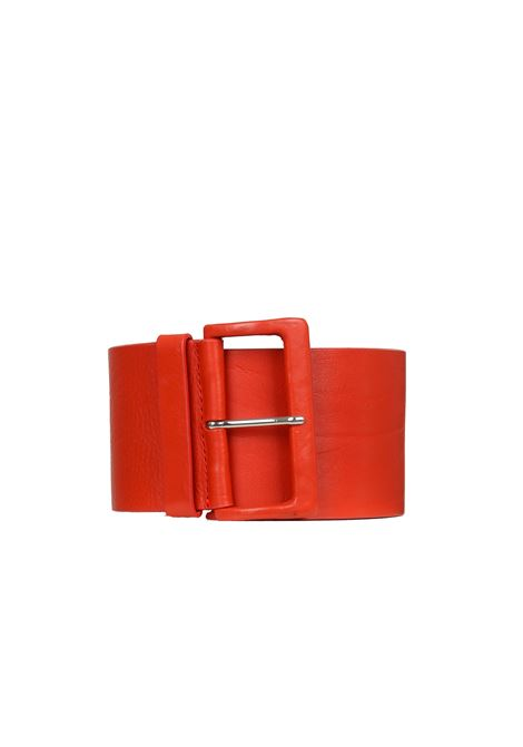LEATHER BELT ALYSI | Belts | 358617A8102ROSSO