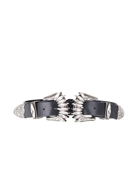 CINTURA IN PELLE B-LOW THE BELT | Cinture | BT071412-100LENERO
