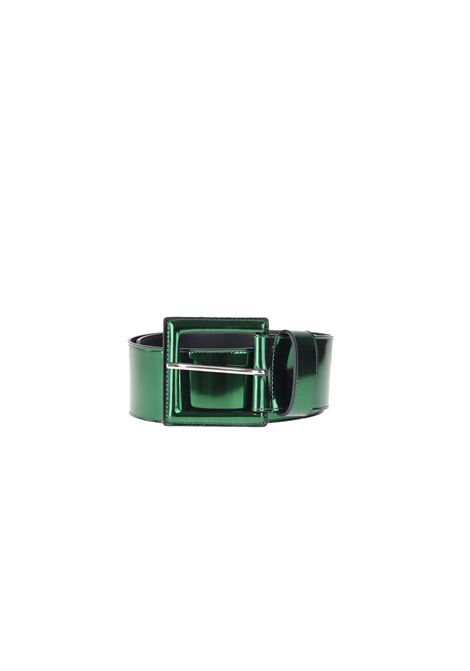 LAMINATED LEATHER BELT B-LOW THE BELT | Belt | BT1895-920LEVERDE