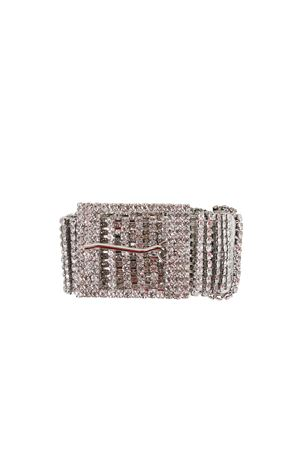 CINTURA IN STRASS B-LOW THE BELT | Cinture | BW143030QSILVER