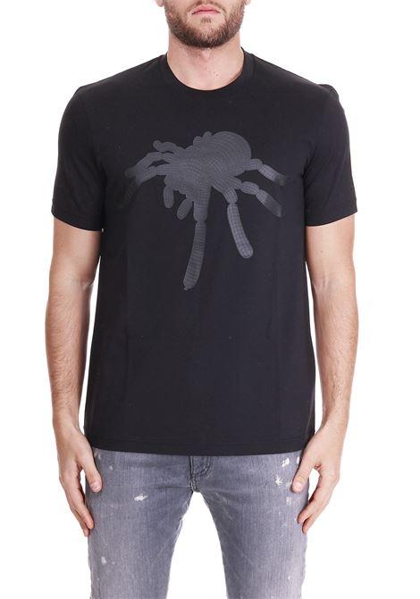 T-SHIRT WITH FRONT PRINTING BLACKBARRETT | T-shirt | PXJ208NERO