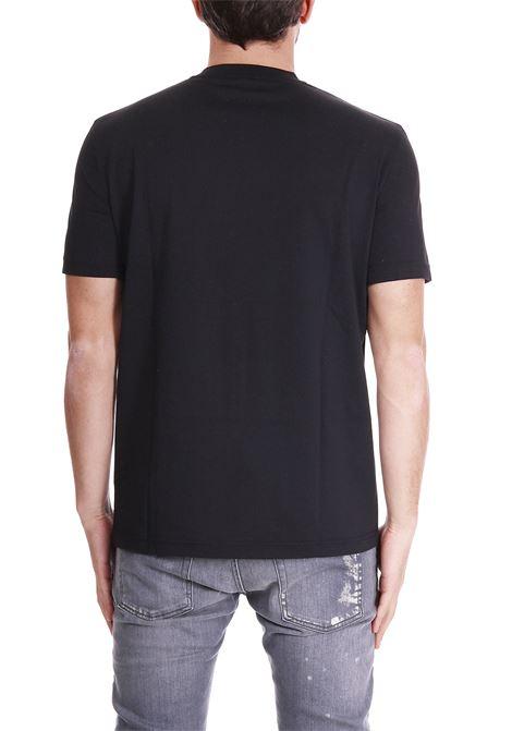 T-SHIRT CON STAMPA FRONTALE BLACKBARRETT   T-shirt   PXJ208NERO