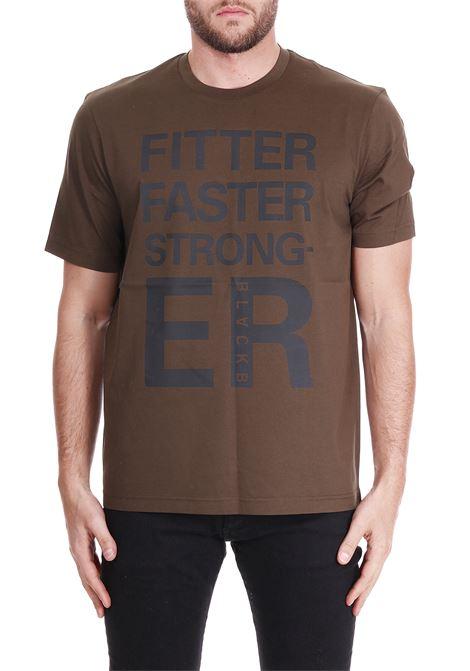 T-SHIRT WITH FRONT PRINTING BLACKBARRETT | T-shirt | PXJT195VERDE