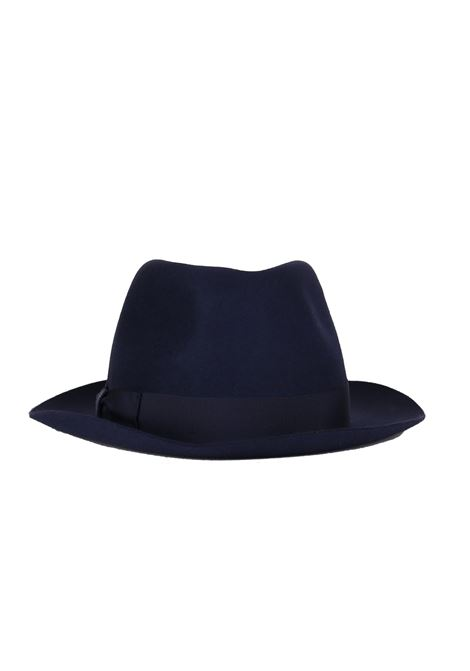 CAPPELLO ''FEDORA'' IN FELTRO BORSALINO | Cappelli | FEDORA0365BLU