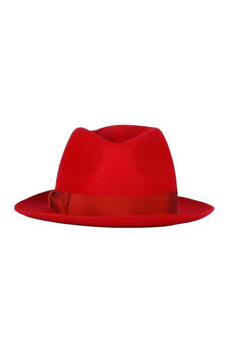 '' FEDORA '' HAT IN FELT BORSALINO | Hats | FEDORA0365ROSSO