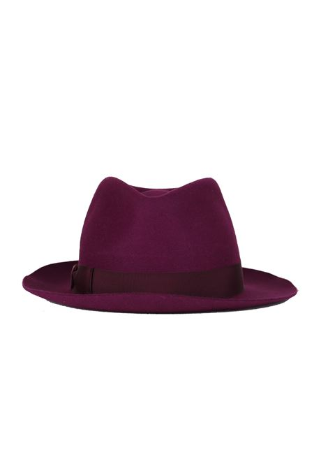 '' FEDORA '' HAT IN FELT BORSALINO | Hats | FEDORA0365VIOLA