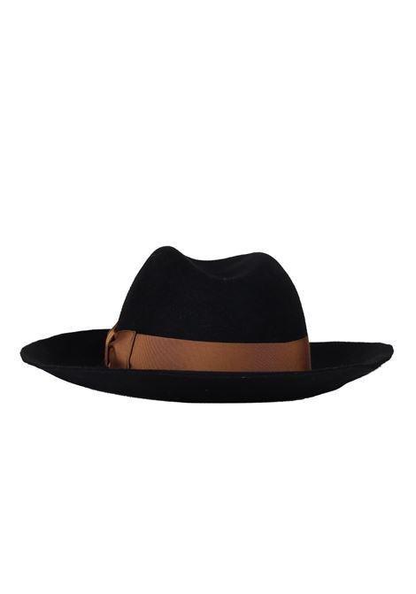 ''MARENGO'' HAT IN FELT BORSALINO   Hats   MARENGO0107NERO