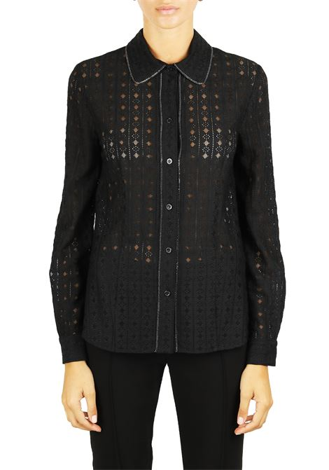 SHIRT WITH EMBROIDERY EMBROIDERY BOUTIQUE MOSCHINO   Shirts   02145839A0555