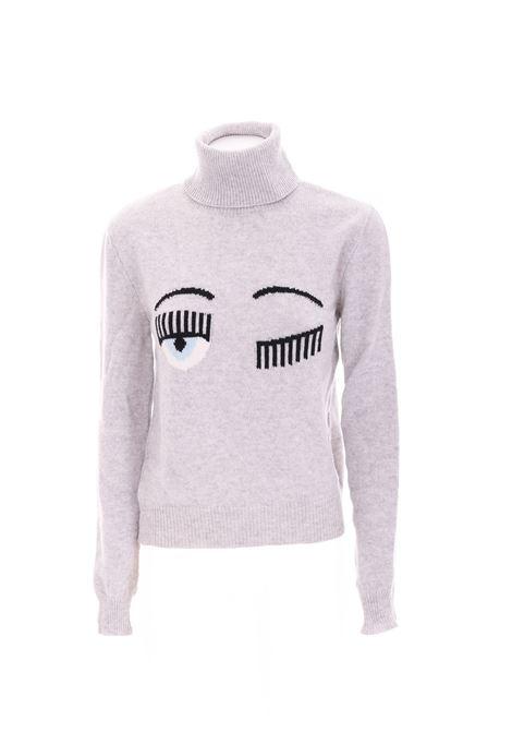 WOOL SWEATER CHIARA FERRAGNI | Sweaters | CFJM019GRIGIO