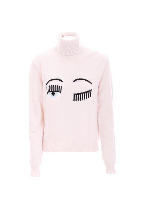 WOOL SWEATER CHIARA FERRAGNI | Sweaters | CFJM019PANNA